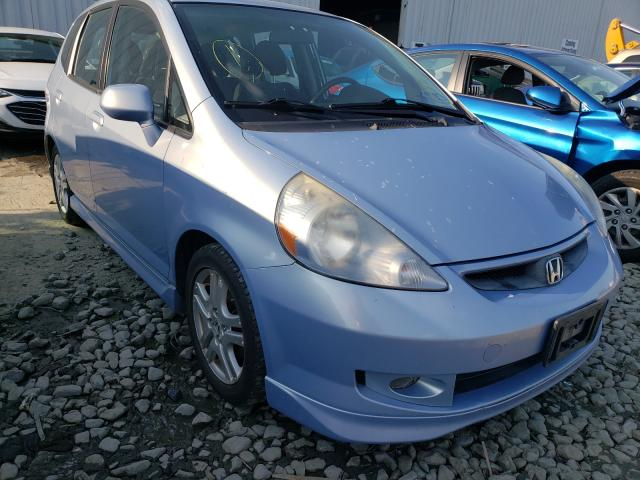 Salvage cars for sale from Copart Windsor, NJ: 2008 Honda FIT Sport