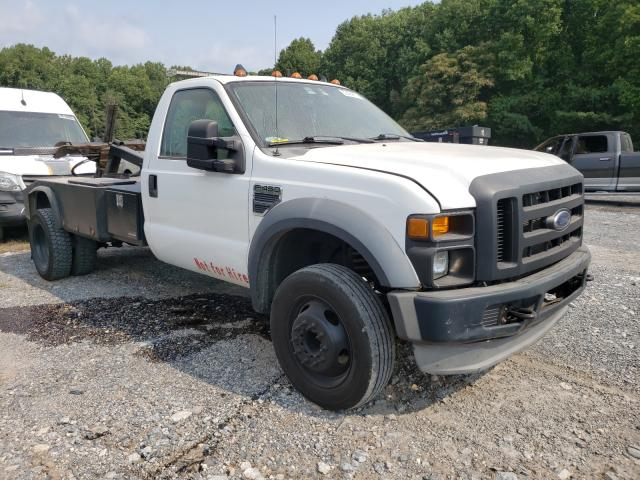 Salvage trucks for sale at York Haven, PA auction: 2008 Ford F450 Super