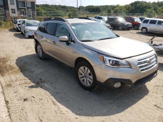 Salvage cars for sale from Copart Madison, WI: 2017 Subaru Outback 2