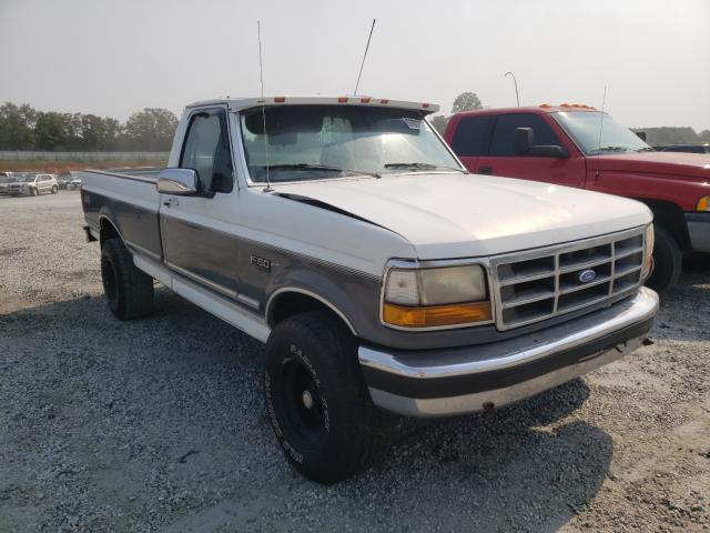 Salvage cars for sale from Copart Spartanburg, SC: 1993 Ford F150