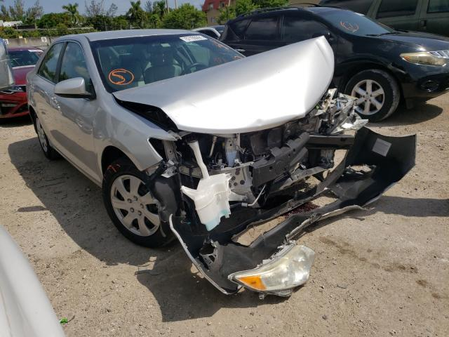 Salvage cars for sale from Copart Opa Locka, FL: 2013 Toyota Camry L