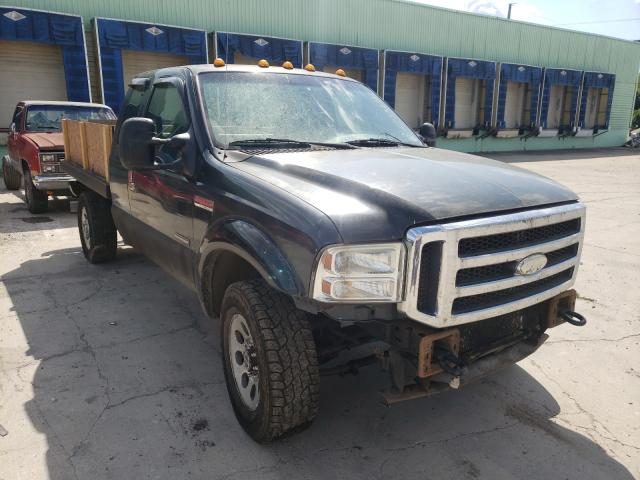 Salvage cars for sale from Copart Columbus, OH: 2005 Ford F350 SRW S