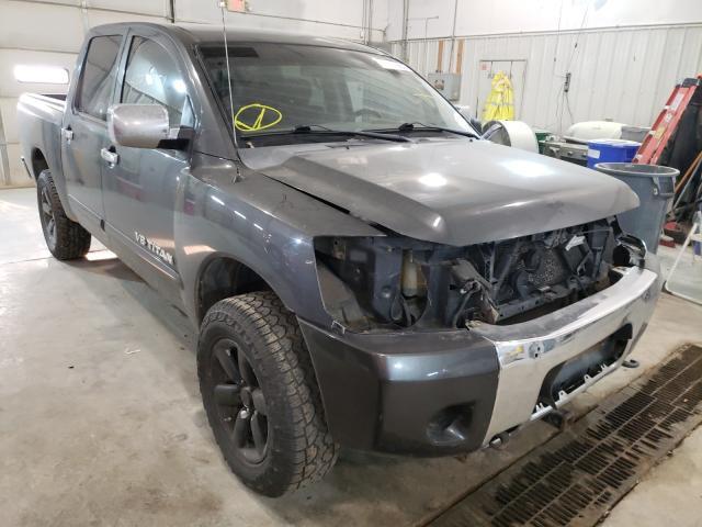 Vehiculos salvage en venta de Copart Columbia, MO: 2012 Nissan Titan S