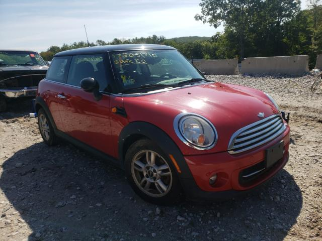 Salvage cars for sale from Copart Warren, MA: 2013 Mini Cooper