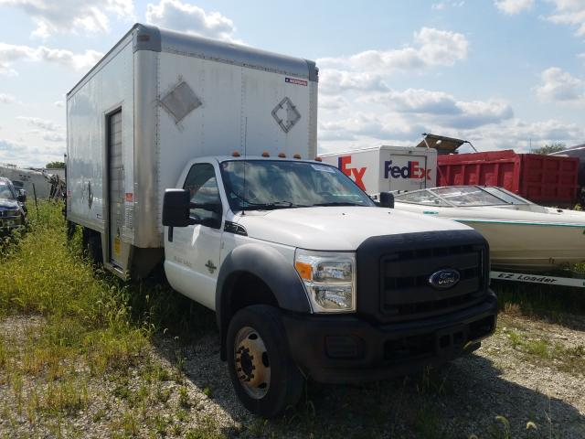 Salvage trucks for sale at Cicero, IN auction: 2012 Ford F550 Super
