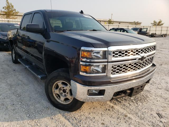Salvage cars for sale from Copart Walton, KY: 2015 Chevrolet Silverado