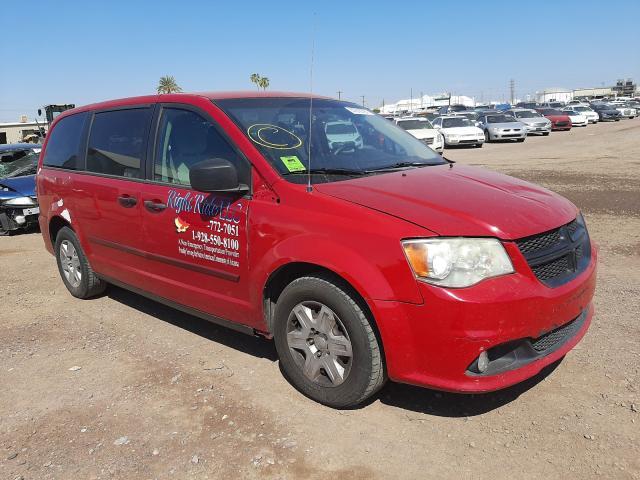 Salvage cars for sale from Copart Phoenix, AZ: 2013 Dodge Grand Caravan