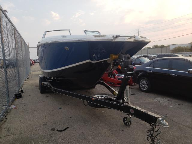 Salvage boats for sale at Moraine, OH auction: 2016 Cobalt BOAT&TRLR