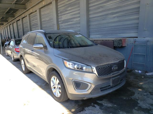 Salvage cars for sale from Copart Hayward, CA: 2016 KIA Sorento LX