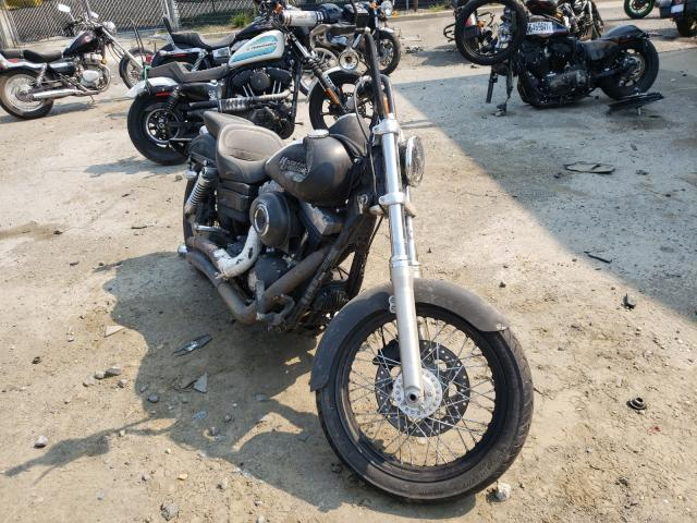Salvage motorcycles for sale at Waldorf, MD auction: 2011 Harley-Davidson Fxdb