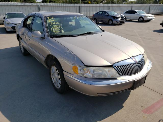 Lincoln salvage cars for sale: 2002 Lincoln Continental
