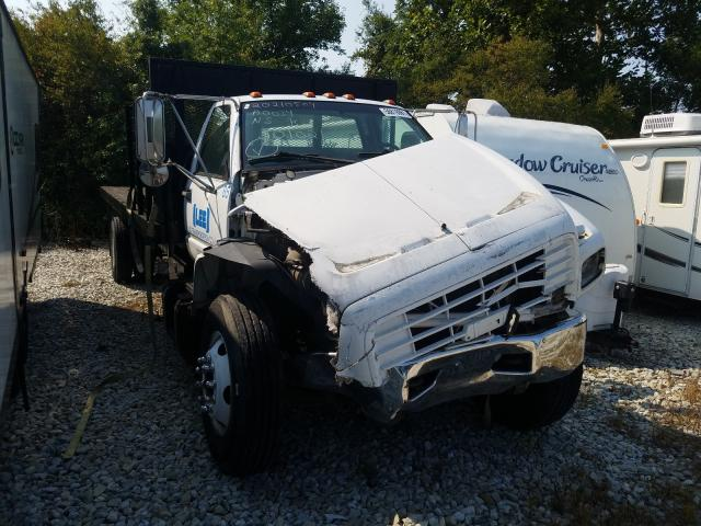 Salvage trucks for sale at Cicero, IN auction: 2001 Chevrolet C-SERIES C