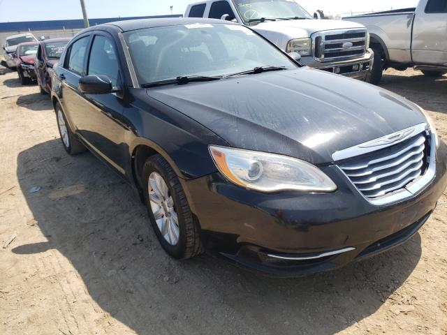 Salvage cars for sale from Copart Houston, TX: 2013 Chrysler 200 Touring