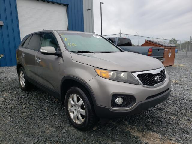 Salvage cars for sale from Copart Cow Bay, NS: 2011 KIA Sorento BA