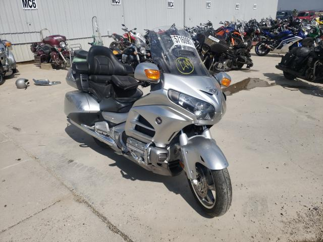 Salvage motorcycles for sale at Reno, NV auction: 2015 Honda GL1800