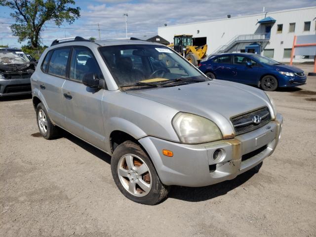 Salvage cars for sale at Montreal Est, QC auction: 2007 Hyundai Tucson GLS