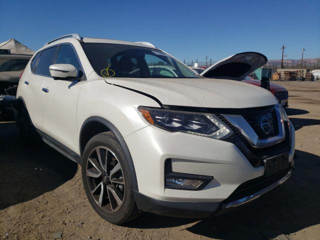 Salvage cars for sale from Copart San Martin, CA: 2017 Nissan Rogue S