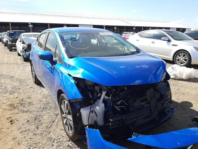 Salvage cars for sale from Copart Phoenix, AZ: 2021 Nissan Versa SV