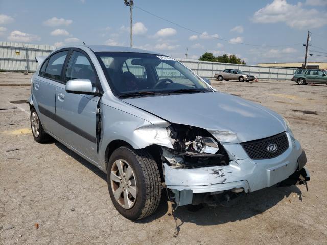 KIA salvage cars for sale: 2009 KIA Rio Base