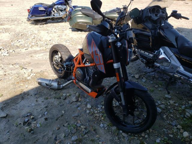 KTM salvage cars for sale: 2014 KTM 690 Duke