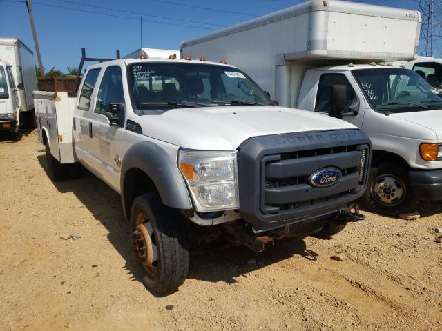 Salvage cars for sale from Copart China Grove, NC: 2011 Ford F450 Super