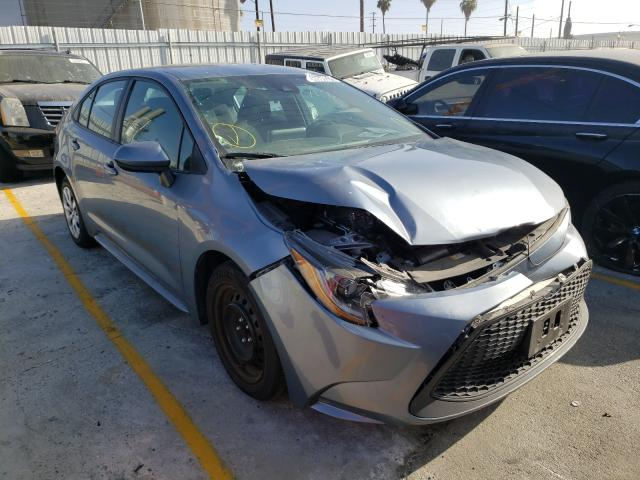 Salvage cars for sale from Copart Wilmington, CA: 2020 Toyota Corolla LE