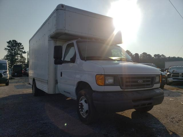 Salvage cars for sale from Copart Loganville, GA: 2007 Ford Econoline