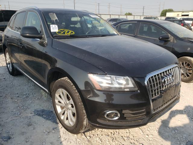 Salvage cars for sale from Copart Haslet, TX: 2013 Audi Q5 Premium