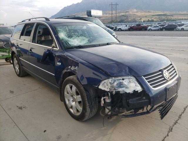 Volkswagen Passat salvage cars for sale: 2002 Volkswagen Passat