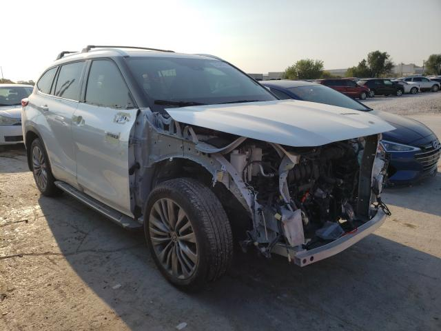 Salvage cars for sale from Copart Tulsa, OK: 2021 Toyota Highlander