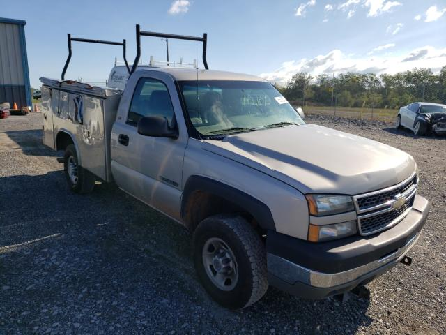 Salvage cars for sale from Copart Chambersburg, PA: 2005 Chevrolet Silverado
