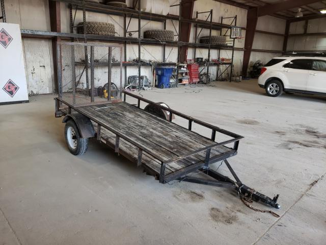 Carry-On Trailer salvage cars for sale: 2007 Carry-On Trailer