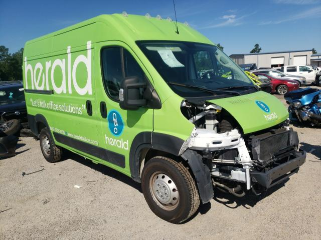 Salvage trucks for sale at Harleyville, SC auction: 2019 Dodge Promaster
