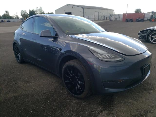 Salvage cars for sale at Bowmanville, ON auction: 2021 Tesla Model Y