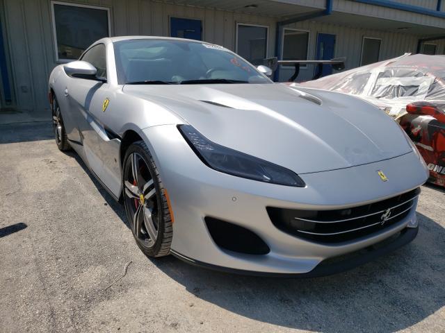 Ferrari salvage cars for sale: 2019 Ferrari Portofino