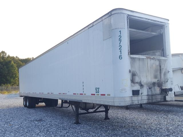 Salvage trucks for sale at York Haven, PA auction: 2007 Wabash Trailer