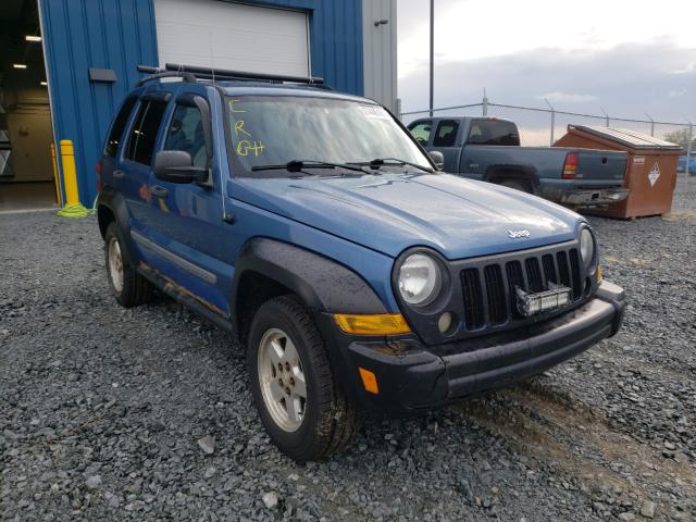 Salvage cars for sale from Copart Cow Bay, NS: 2005 Jeep Liberty SP
