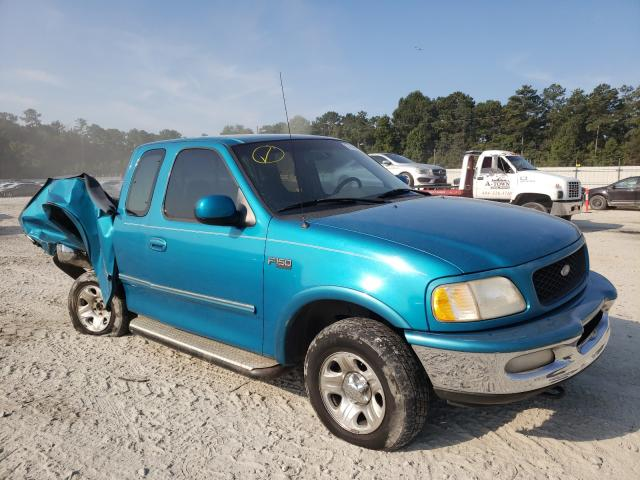 Salvage trucks for sale at Ellenwood, GA auction: 1997 Ford F150