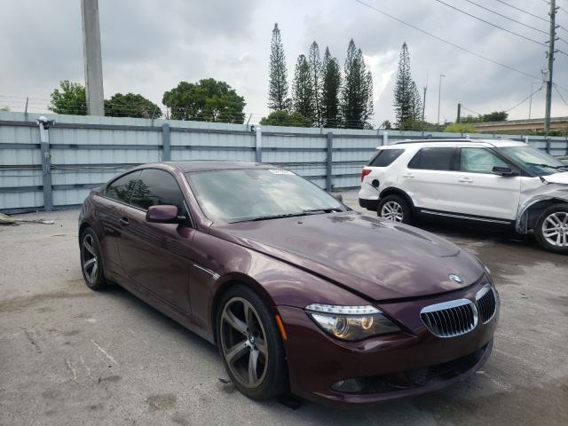 Vehiculos salvage en venta de Copart Miami, FL: 2008 BMW 650 I