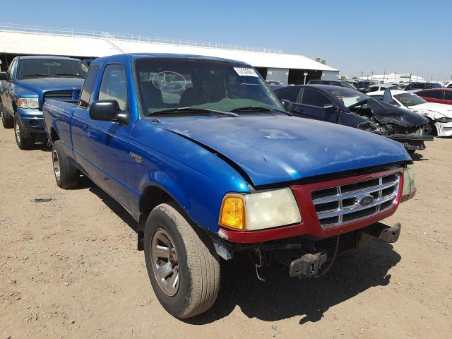 Salvage cars for sale from Copart Phoenix, AZ: 2001 Ford Ranger SUP