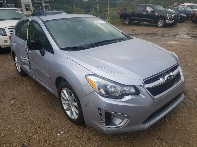 Salvage cars for sale from Copart Madison, WI: 2013 Subaru Impreza PR