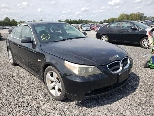 Salvage cars for sale from Copart Fredericksburg, VA: 2004 BMW 530 I