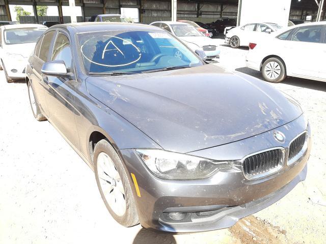 Salvage cars for sale at Phoenix, AZ auction: 2017 BMW 320 I