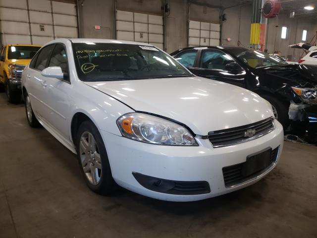 Salvage cars for sale from Copart Blaine, MN: 2011 Chevrolet Impala LT