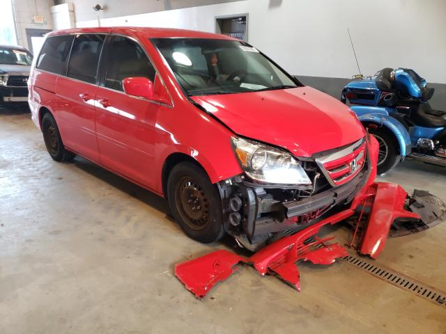 Salvage cars for sale from Copart Sandston, VA: 2005 Honda Odyssey LX
