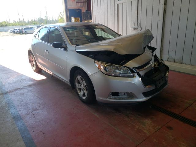 Salvage cars for sale from Copart Angola, NY: 2015 Chevrolet Malibu LS