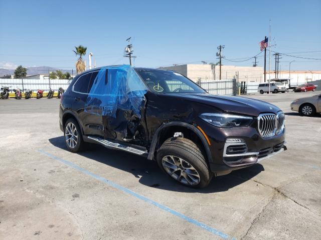 Salvage cars for sale from Copart Sun Valley, CA: 2021 BMW X5 Sdrive