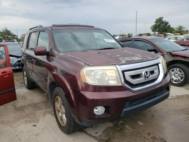 Salvage cars for sale from Copart Riverview, FL: 2010 Honda Pilot EXL