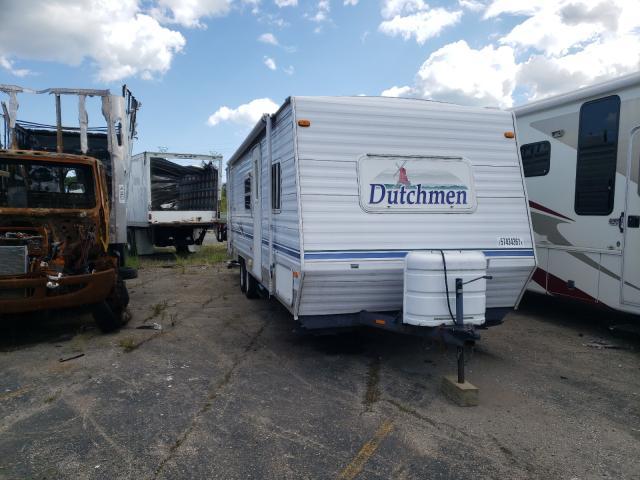 Vehiculos salvage en venta de Copart Woodhaven, MI: 2002 Dutchmen Lite
