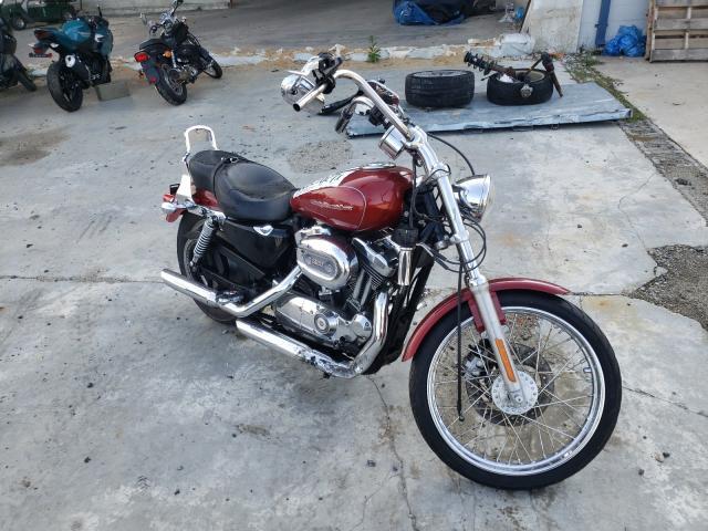 Salvage motorcycles for sale at Fredericksburg, VA auction: 2006 Harley-Davidson XL1200 C